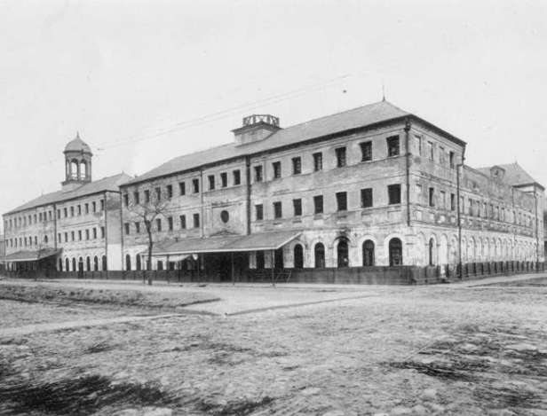 First Orleans Parish Prison.  Source: sweetlivesoapworks.com