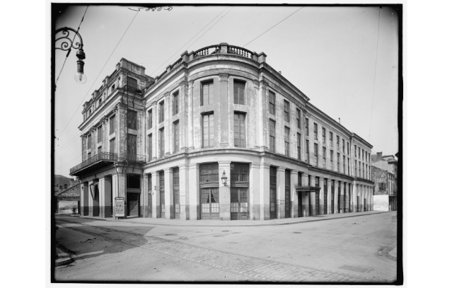 French Opera House, ca. 1910. Source: Library of Congress