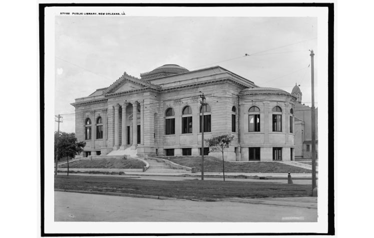 New Orleans Public Library. Source: Library of Congress