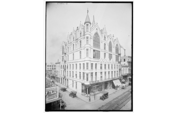 Second Masonic Temple. Source: Library of Congress