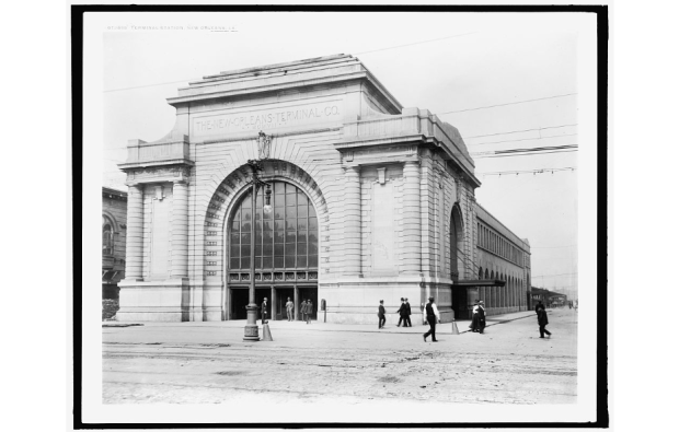 Southern Railroad Depot, 1910.  Source: Library of Congress