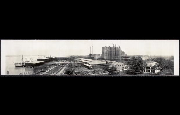 Domino Sugar Refinery, 1913. Source: Library of Congress