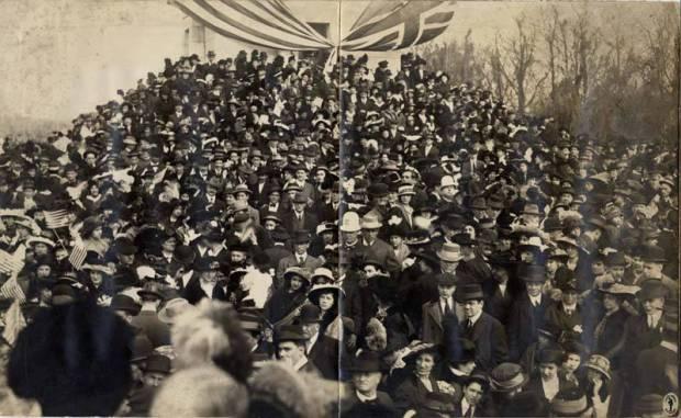 Centennial at Chalmette Monument, 1915. Source: Louisiana Digital Library
