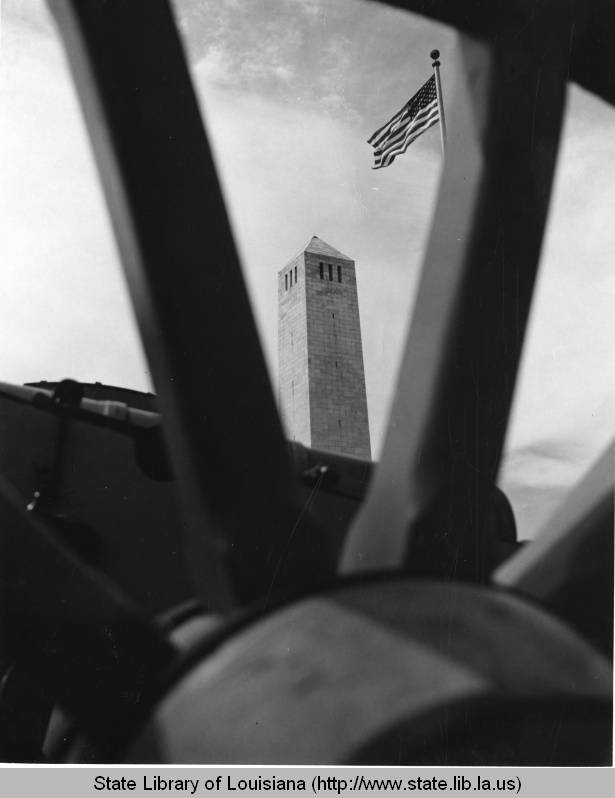 Chalmette Monument, 1960s. Source: Louisiana Digital Library