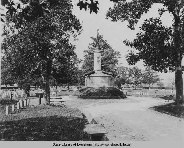 Chalmette National Cemetery, 1910. Source: Louisiana Digital Library