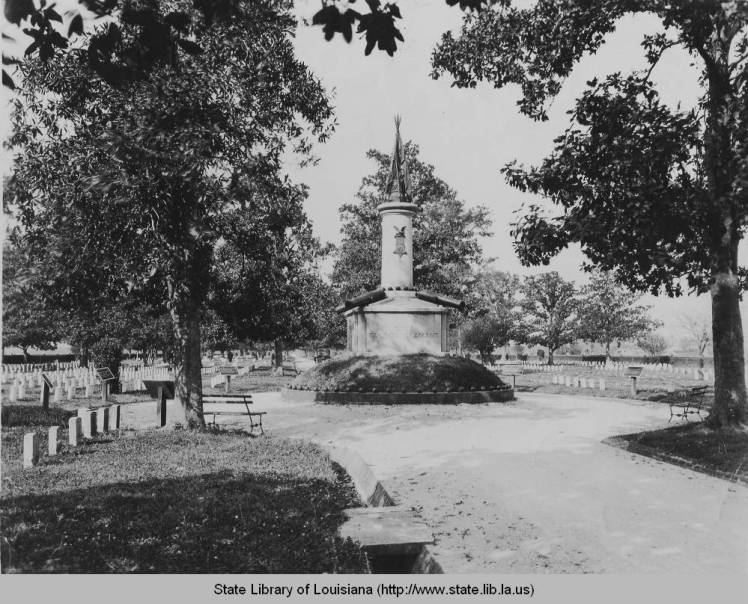 Chalmette National Cemetery, 1910. Source: Louisiana Digital Library