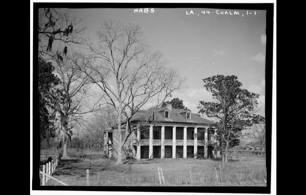 Beauregard House, 1934. Source: Library of Congress