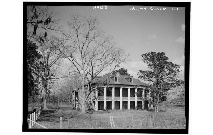 Beauregard House, 1934. Source: Library of Congress