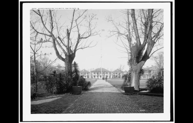 Jackson Barracks, 1890s. (Close enough to the parish). Source: Library of Congress