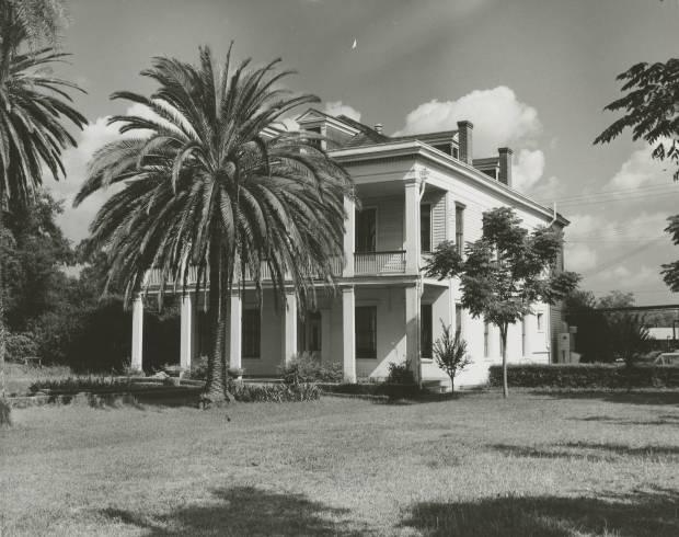 La Maison des Jalousies, Old Arabi, early 1950s. Source: Louisiana Digital Library