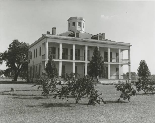 Lebeau Plantation, date unknown. Source: Louisiana Digital Library