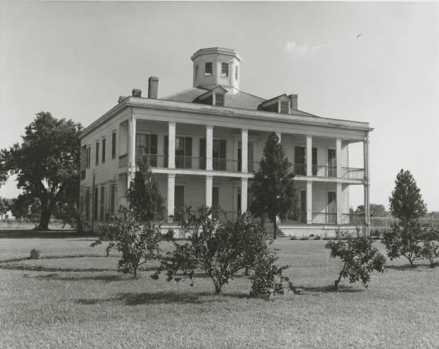 Lebeau Plantation, date unknown. Source: Louisiana Digital Library