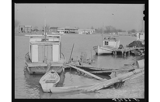 Delacroix Isle, 1941. Source: Library of Congress