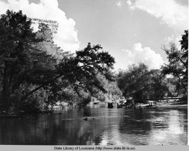 Whiskey Bayou, date unknown. One of the many routes used to illegally import alcohol during Prohibition. Source: Louisiana Digital Library