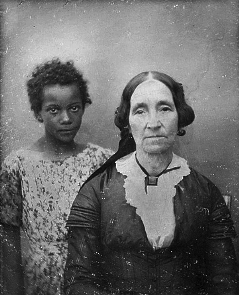 1850 - New Orleans woman and her enslaved child