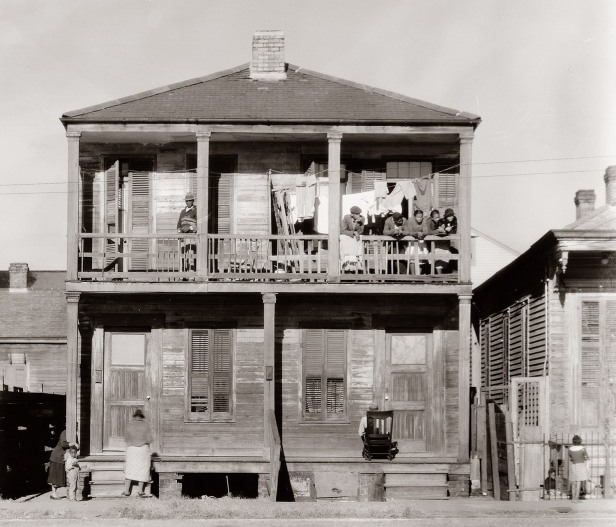 1936 - Negro house in New Orleans, Louisiana.