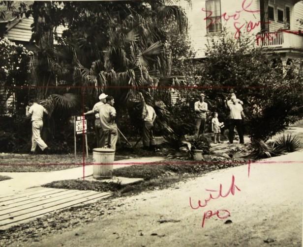 1945 - Nazi POWs at work Uptown