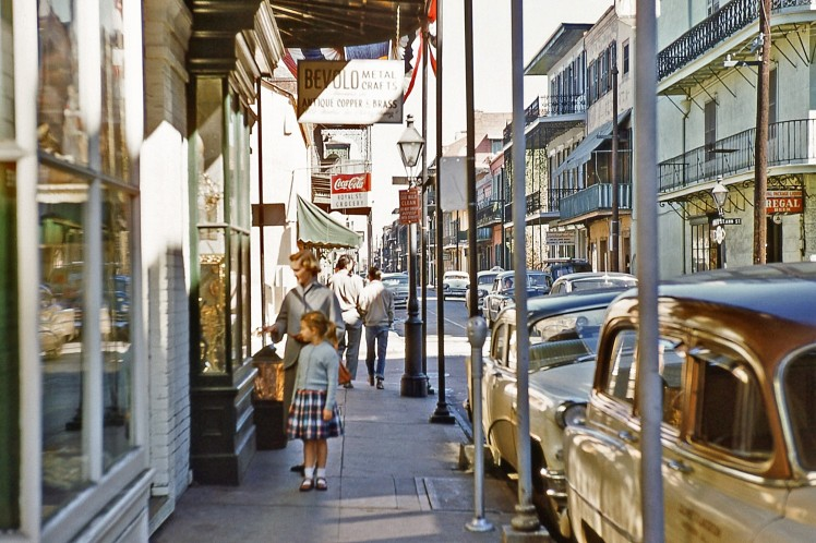 1956 - New Orleans February corner of St. Ann and Royal