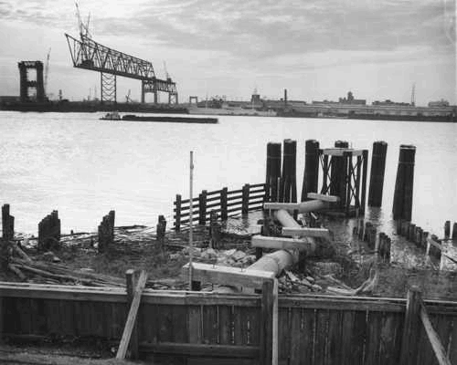 1957 - CCC under construction
