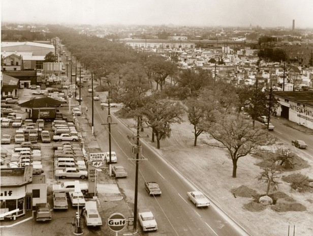 1966 - Claiborne Avenue prior to the 1-10 overpass