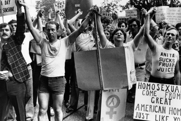 1977 - Gay rights demonstration