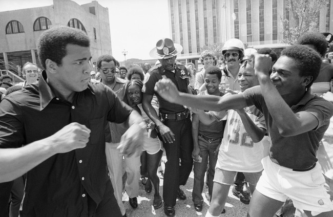 1978 - Ali on Canal