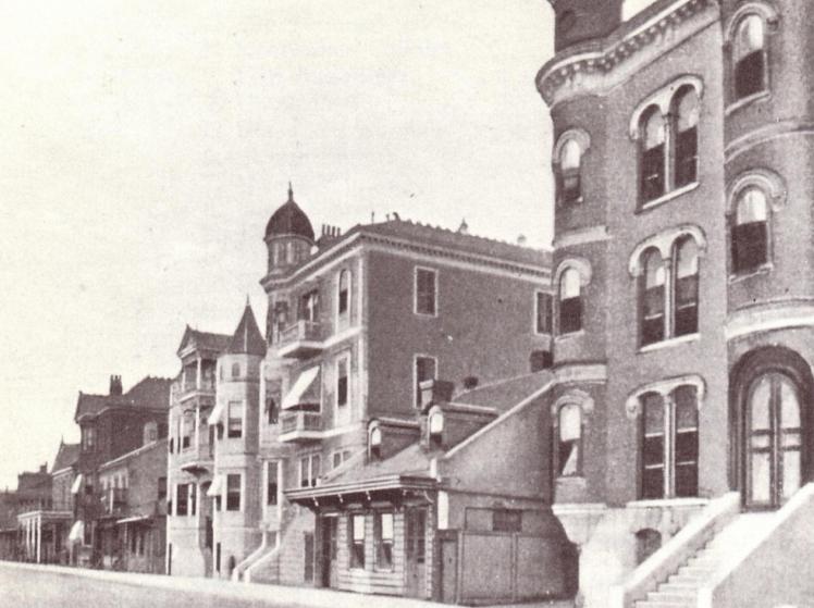 ca. 1890s - Basin Street, Storyville