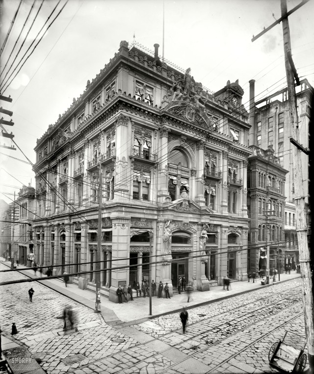 ca. 1900 - Cotton Exchange